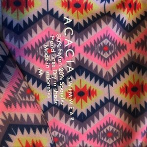 acacia swimwear Swim - Acacia Mykonos Bikini Top in Navajo